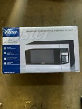 Oster 0.9 Cu Ft Microwave Oven Stainless Steel