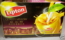 Lipton Quality Mellow Hong Kong Style 3 in1 Milk Tea Drink mix Beverages powder
