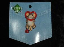 Charming Tails Leaf and Acorn Club 2010 Event Heart Lapel Pin (4017678) New!