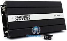 OPEN BOX SUNDOWN AUDIO SCV-2000D MONOBLOCK 2000W RMS SUBWOOFERS BASS AMPLIFIER