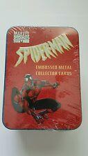 Spiderman embossed metal cards 1996