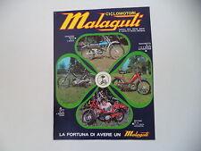 advertising Pubblicità 1974 MALAGUTI CAVALCONE CROSS 50/QUATTROTTO/FIFTY/MOTORIK