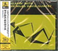 MILES DAVIS QUINTET-RELAXIN' WITH THE MILES DAVIS QUARTET-JAPAN UHQCD Ltd/Ed D73