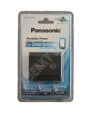 Genuine PANASONIC QE-QL201EE-K Portable Power 5400mAh (2 Outputs) Fast Shpt