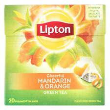 Lipton Tee 5 x 20 = 100 Beutel Pyramide Green tea Mandarin orange
