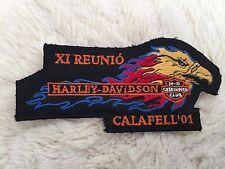 Harley Davidson Calafell 2001 XL REUNIO Parche