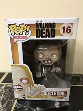 Funko Pop Television 16 The Walking Dead Bicycle Girl Vaulted Rare