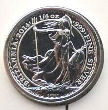 Great Britain 2014 SS Gairsoppa 50 Pence Silver Coin,BU