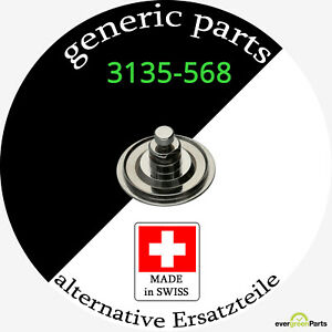 3135-568 ¦ Oscillating weight axel compatible for Rolex 3130 3135 3175 3185 3186