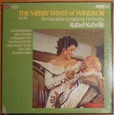 "NICOLAI """"THE MERRY WIVES OF WINDSOR""; RAFAEL KUBELICK; LONDON STEREO SEALED 3LP"