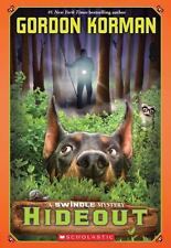 Hideout by Gordon Korman (English) Paperback Book Free Shipping!