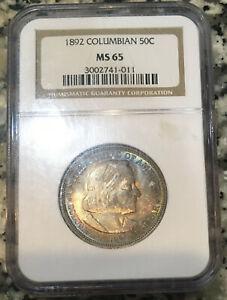 1892 Columbian Exposition NGC MS65