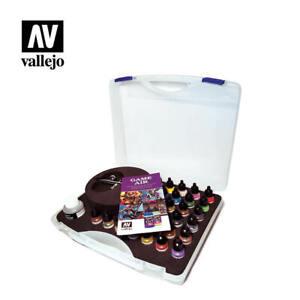 Vallejo Acrylic Paints 72871 Game Air Color Basic Case 17ml Bottle (Set of 28)