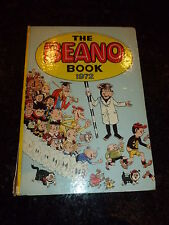 THE BEANO BOOK Comic Annual - Year 1972 - UK Comic Annual