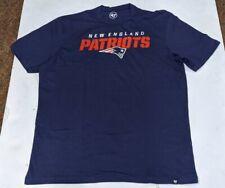 New England Patriots 47 Brand Mens T-Shirt  NEW Large
