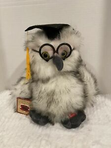 Chantilly Lane Musical Owl that sings the Graduation songs new with tags.