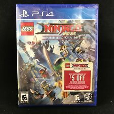 LEGO Ninjago Movie Video Game (Sony PlayStation 4, 2017) BRAND NEW