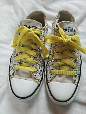 Converse All Stars Canvas Tennis Shoes Sneakers Mens SZ 6 Mens 8 women's
