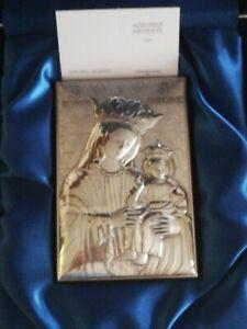 Madonna Della Lettera In Argento