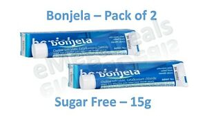 2x Bonjela 15g Mouth Ulcer Treatment Sugar Free Adult Gel 16+ Effective Relief