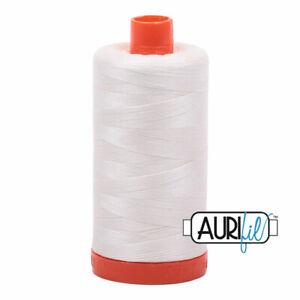Aurifil Cotton Thread Mako 50wt Large Spool 1422 yards/1300 meters MK50SC6-2026