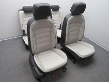 Séance aménagement intérieur sièges en cuir cuir noir gris Tiguan II 5na (ad1)