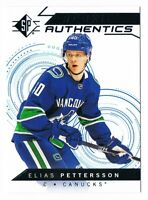 2018-19 SP Hockey Stars Rookie Authentics Profiles Blue Parallel Pick From List