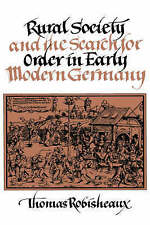 Rural Society and the Search for Order in Early Modern Germany-ExLibrary