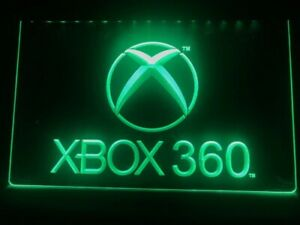 New game room XBOX 360 LED Displays Toys TV Neon Light Sign Boy Girl Gift