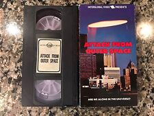 Attack From Outer Space Vhs! 1965 Sci-Fi! Invaders In Space Mutiny In Space