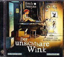 CD Der unsichtbare Wink - Emily Jenkins (2 CDs) - gelesen von Robert Missler
