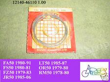 Suzuki JR50 FA50 FS50 FZ50 OR50 LT50 RM50 Piston Ring 1.00 NOS 12140-46110 100