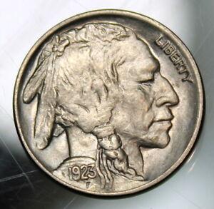 1923 Buffalo Head Nickel - AU+ !!