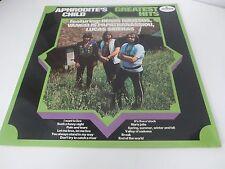 Aprodite's Child Greatest Hits Mercury Holland LP