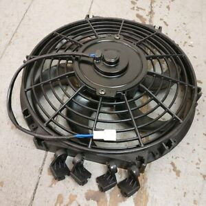 """1958-1988 AMC 10"""" S-Blade Radiator Cooling Fan 1019Cfm v6 390 390 nash i6 l-head"""