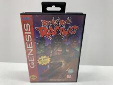 ROCK N ROLL RACING - Sega Genesis - BOX & COVER ART ONLY - No Game or Booklet