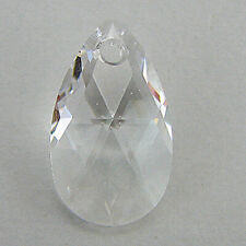 16mm Swarovski crystal teardrop pendant 6106 crystal clear