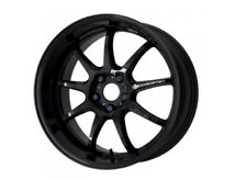 WORK EMOTION D9R 9.5/10.5J-19 +30/+30 5x114.3 Black set of 4 wheels from JAPAN