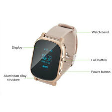 GPS Tracker Locator Smart Watch Android iPhone Monitor SOS for Children Kids New