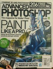 Advanced Photoshop UK Issue 140 Paint Like A Pro Technique Tips FREE SHIPPING sb