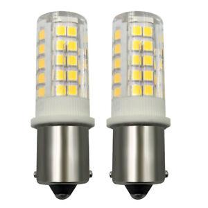 BA15S 1141 S8 LED Car/Boat Light bulb 5W 64-2835 SMD Ceramics Lamp AC DC 12V