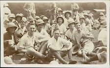 Group young men Pith helmets bottles of beer   JC.547