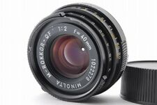 【B- Good】 MINOLTA M ROKKOR QF 40mm f/2 MF Lens for Leica CL CLE From JAPAN R3440