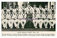 "rs1137 - South African Cricket Team 1947 - photograph 6""x4"""