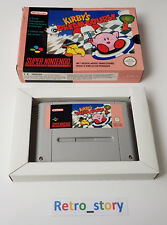 Super Nintendo SNES - Kirby's Dream Course - PAL - FAH