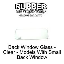 1955 - 1959 Chevy / GMC Truck Rear Window Glass - Clear - Small Glass FREE SHIP