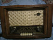 PHILLIPS BX542A TUBE RADIO working