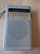 Radio Sony ICF - S22 tragbares Miniradio Transistorradio Batteriebetrieb