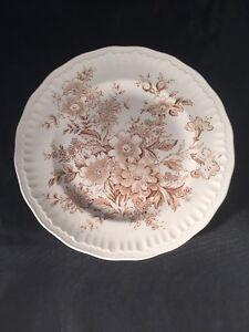 Vintage Swinnertons Staffordshire Montrose Plate Made In England Floral Design