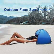 Summer Beach Umbrella Outdoor Face Tent Portable Head Sun Protection Shelter